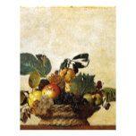 Caravaggio - Basket of Fruit - Classic Artwork Letterhead #weddinginspiration #wedding #weddinginvitions #weddingideas #bride