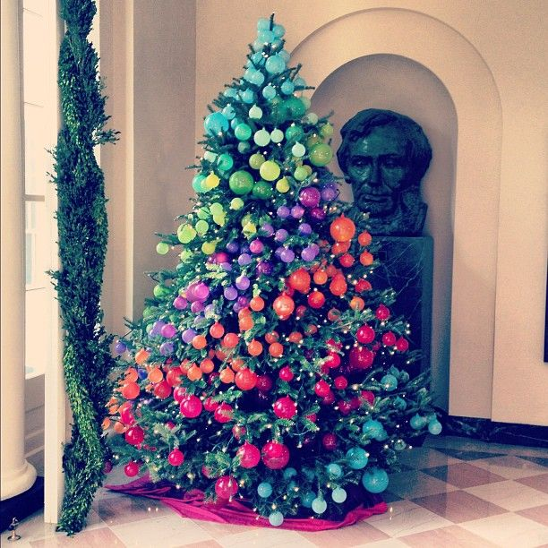 Rainbow Christmas Trees: 220 Best Too Cute/cool Not To Pin! Images On Pinterest