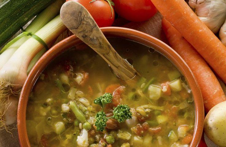 Tien-groentensoep