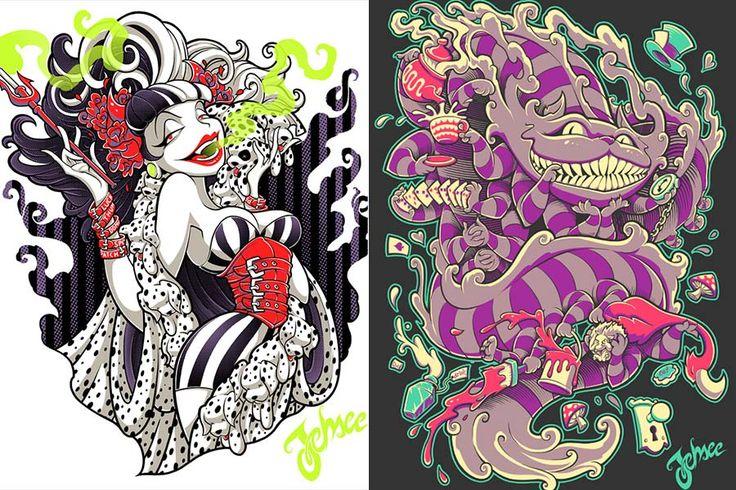 disney-ilustraçoes-estampasmacabras-jehsee-004