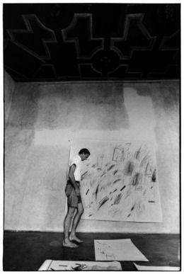 Ugo Mulas, 'Cy Twombly, Roma,' 1969-1970, Lia Rumma