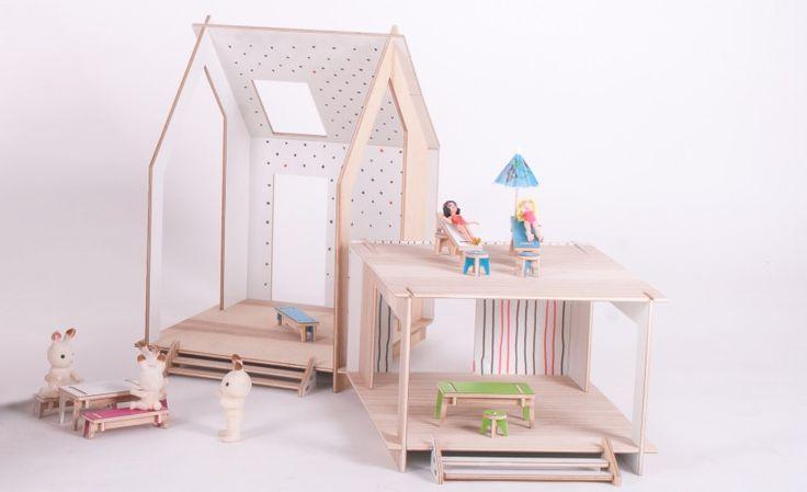 domek dla lalek | TAMIDO | modern dollhouse