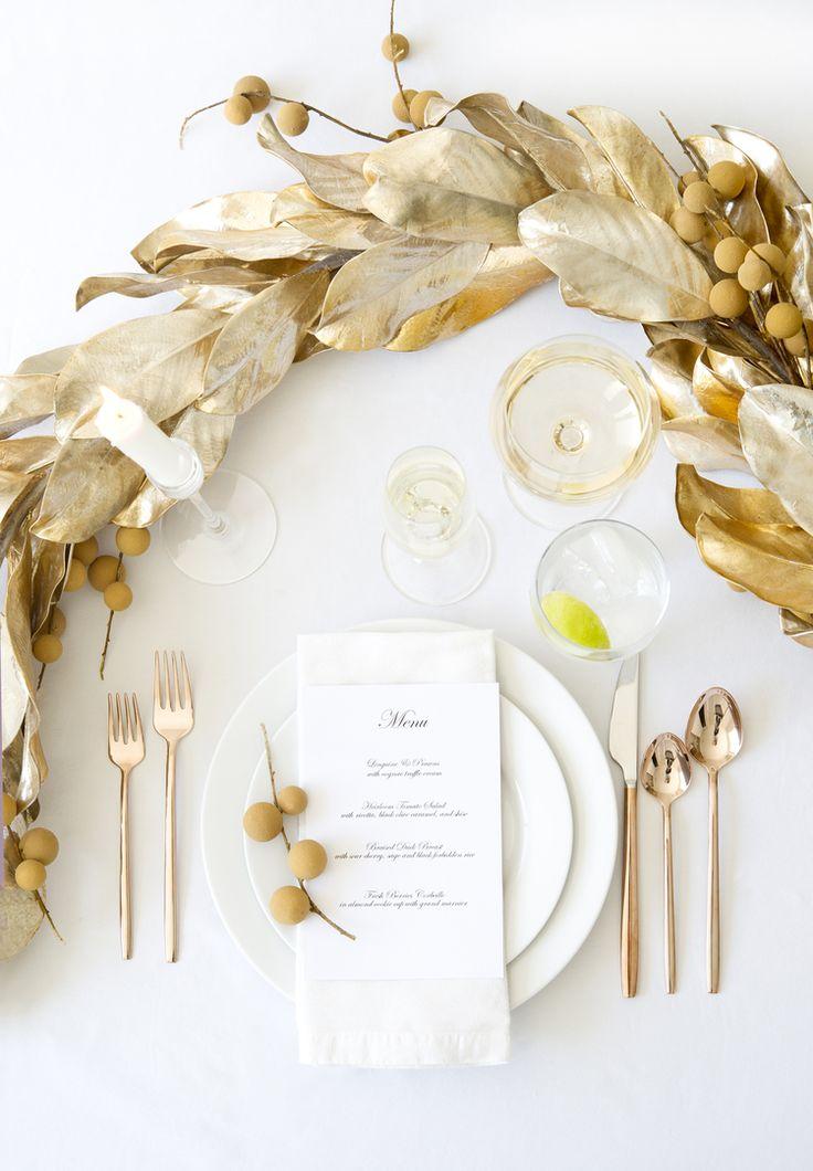 Fall elegant table setting inspiration!