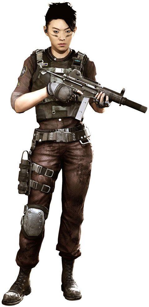 Warrior Women! Plausible cyberpunk loadout, near future combatant