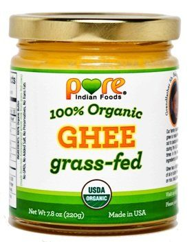 Our Grass-fed Organic Ghee is made from the milk of pastured cows, fed on fresh green grass in spring and fall made from non-homogenized milk  (when making ghee at home, make under the waxing moon)