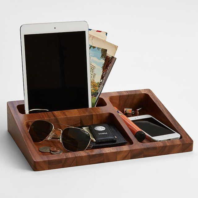 Wood Tray Valet | concrete | Pinterest | Wood Tray, Wood and Tray