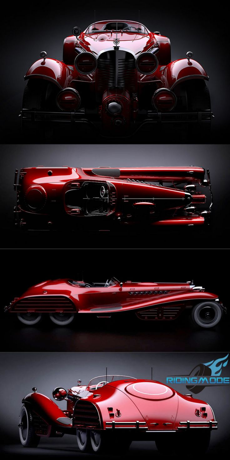 The Red Skull Coupe Concept – Hail Hydra!!
