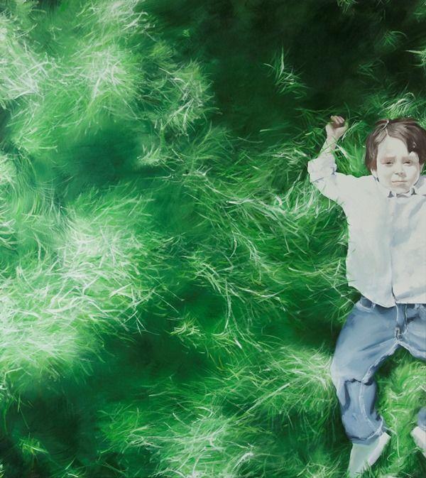 Artist: Zoltán Béla - Breathtaking (2010), 85 x 95 cm, oil on canvas