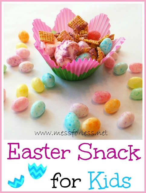 Easter Snack for Kids - This takes just a few minutes to prepare and kids will love it. #Easter #snack