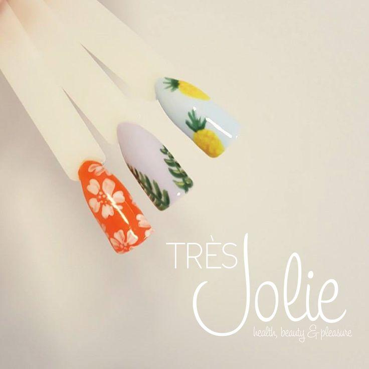 Tres Jolie handmade. Manicure tropikalnie.