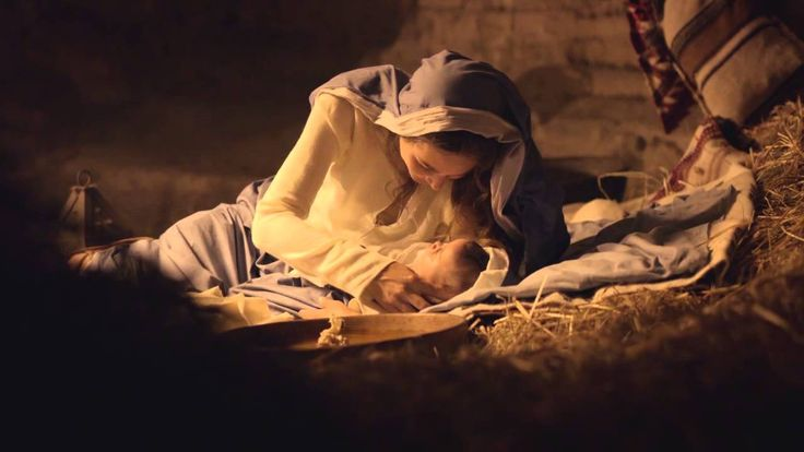 """BIRTH OF JESUS from """"Mary of Nazareth"""" by Ignatius Press on YouTube ~ Of all the Nativity film clips, this is the  most reverent enactment of the birth of Jesus that I've seen."""