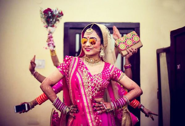 Beautiful Brides  beautiful work by Party Halls in Bangalore