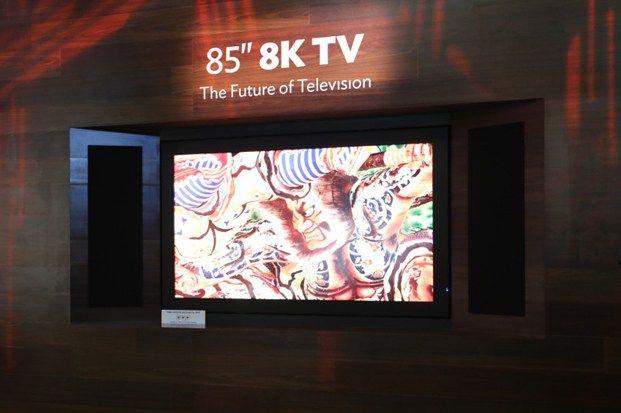 Sharp LV-85001 – primul televizor 8K va putea fi cumpărat în curând. Prețul? Peste 130.000 dolari