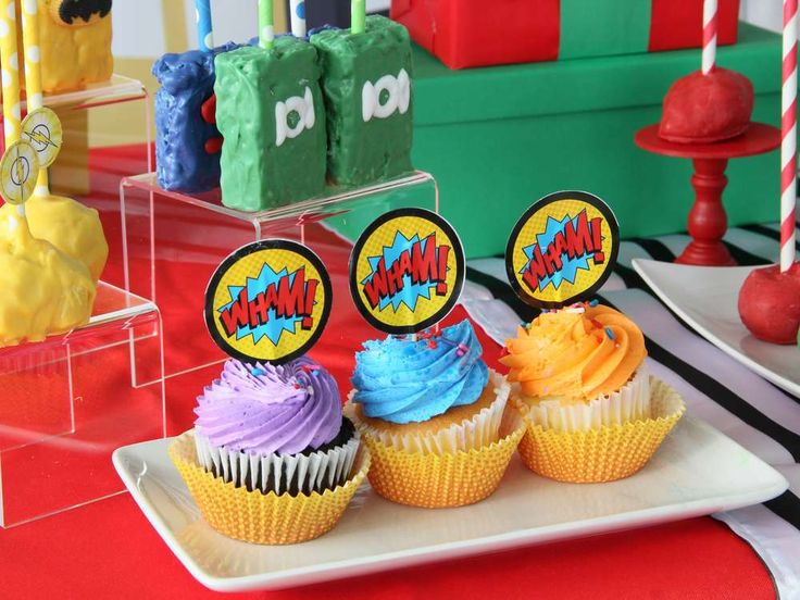 Superheroes Baby Shower Party Ideas