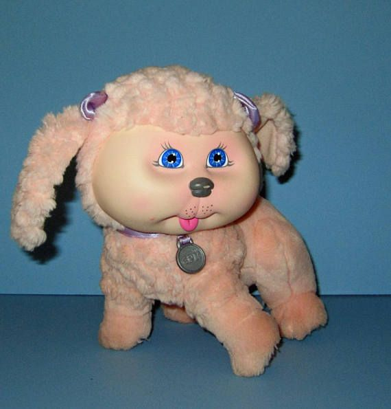 Cabbage Patch Kids Adopt and Luv Mattel Pink Poodle