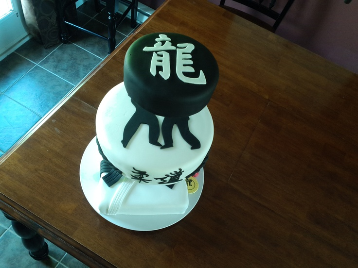 Dragons Judo Club cake