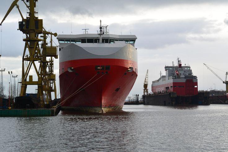 KESS vessels in MSR Gryfia
