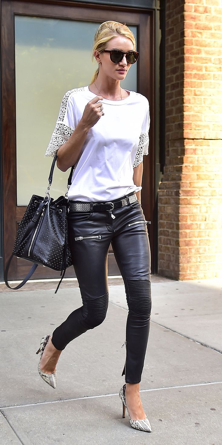 Rosie Huntington-Whiteley's Chic Street Style