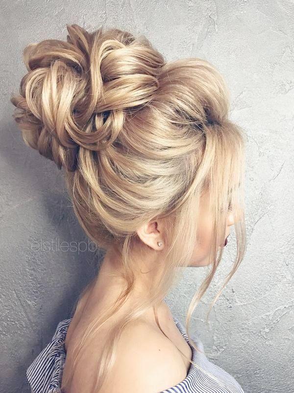 Wedding Evening Hairstyles Elegant Side Ponytail Wedding Hairstyles