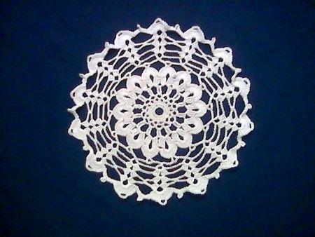 Carpeta para mesa de luz en tejido crochet | Ideas para el ...
