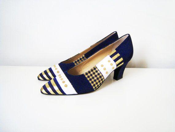 Vintage High Heel Shoes  High Heel Pumps  by CutandChicVintage, $48.00