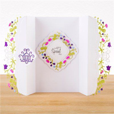 Create and Craft Couture Collection Summer Blossoms Trim from Create and Craft USA