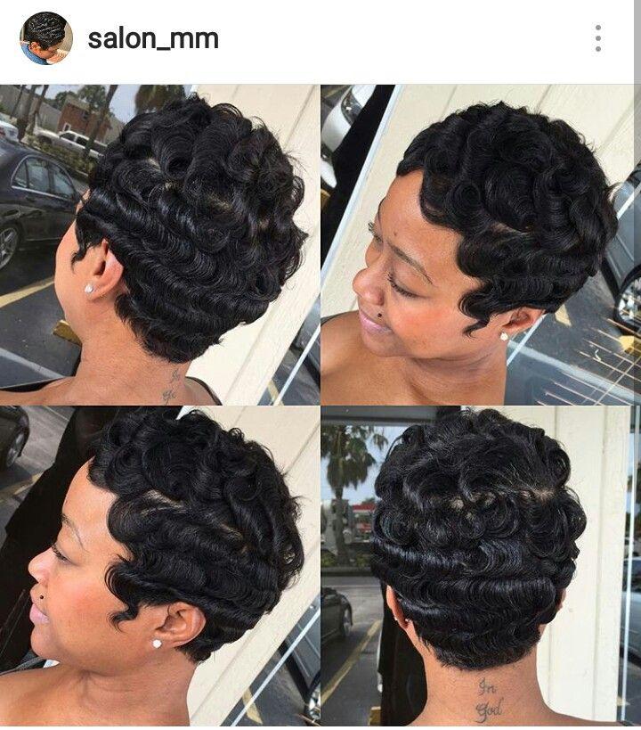 Ig Salon Mm Miami Stylist Short Sassy Hair Hair Waves Sassy Hair