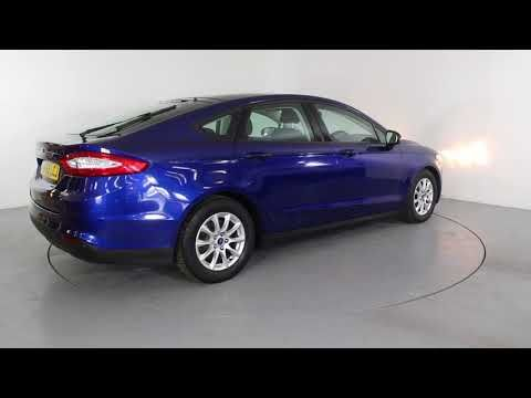 FORD MONDEO 1.5 TDCI ECONETIC STYLE - Air Conditioning - Alloy Wheels - Bluetooth - Cruise Control - DAB Radio - Free Road Tax - Spare Key | In blue ...