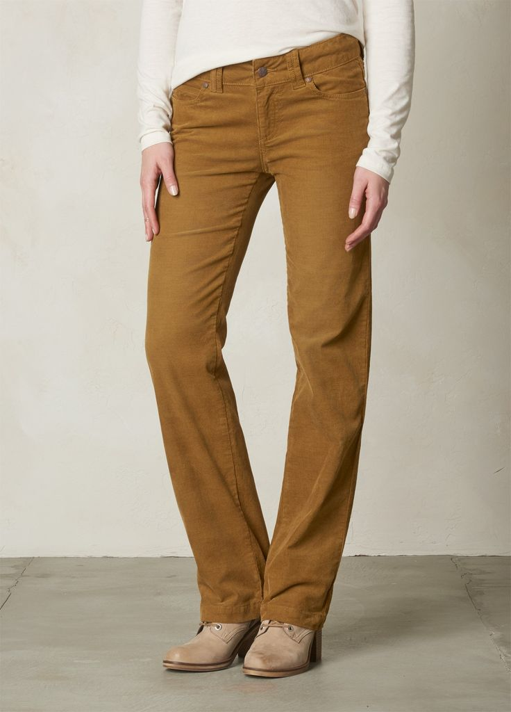 I love the prAna Crossing Cord Pant! Check it out and more at www.prAna.com