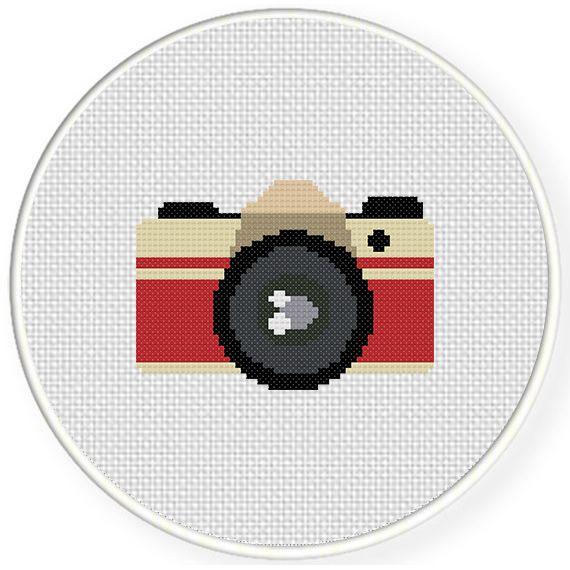 FREE for March 23rd 2015 Only - Vintage Camera Cross Stitch Pattern