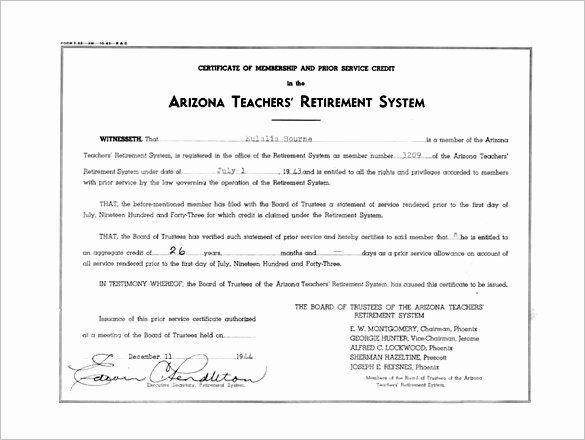 20 Teacher Appreciation Certificate Pdf Dannybarrantes Template Retirement Certificate Certificate Templates Teachers