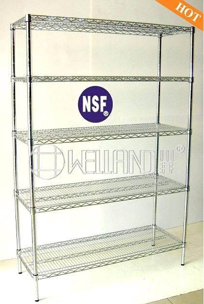 Adjustbale NSF Stainless Steel Wire Shelving (HD184872A4W) - China Wire Shelving, Welland