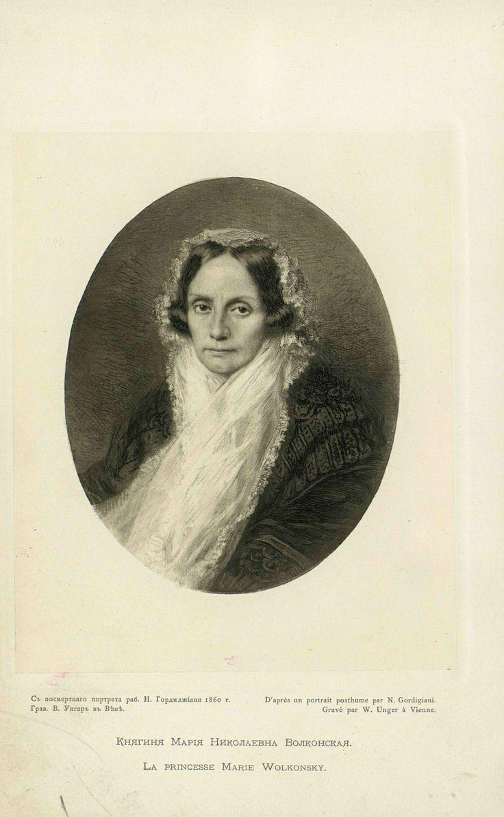 Maria Raevskaja moglie del decabrista Volkonskij