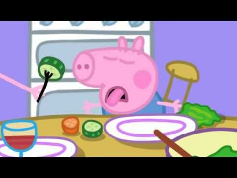 Peppa Pig Season 1 Episode 37 Lunch - YouTube