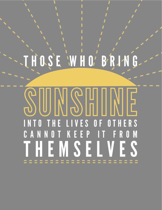 sunshine: Life, Inspiration, Printables, Art Prints, Word, Tattoo'S Quotes, Living, Book Jackets, Bring Sunshine