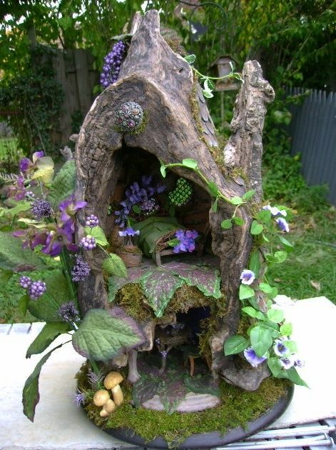 Fairy Houses, Garden, Fairies, And