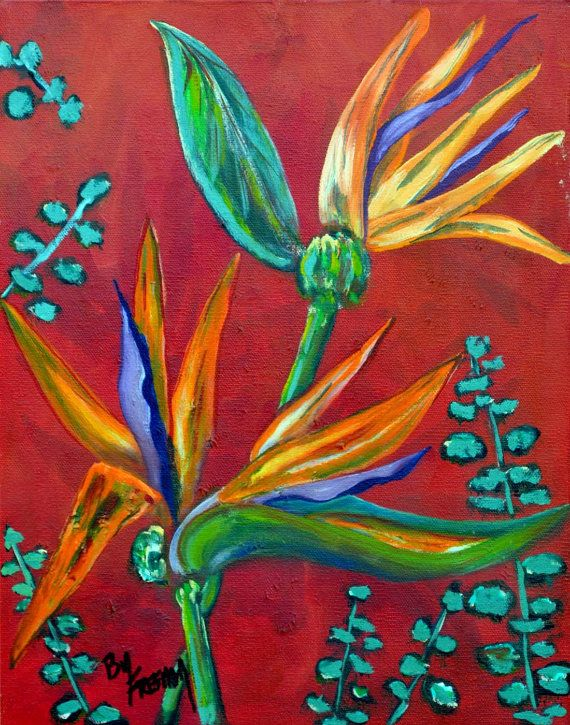 Tiger Lillies by FreemanArtworks on Etsy, $35.00