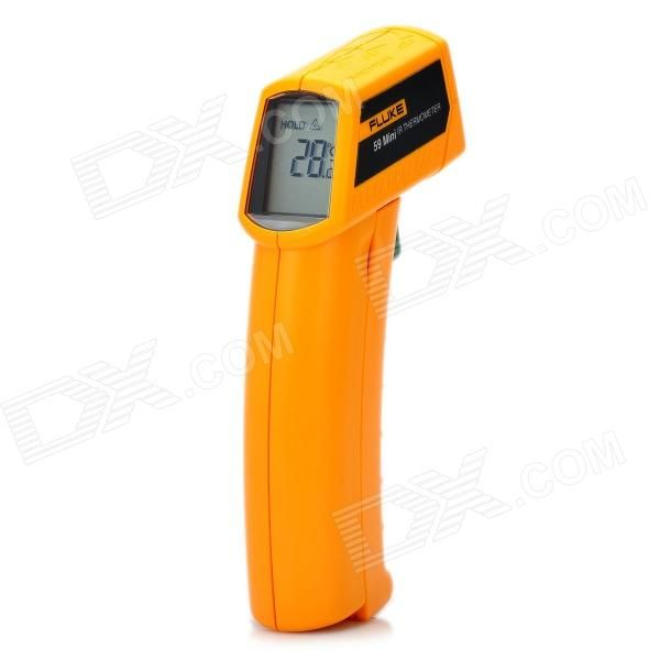 59MINI 1.6 LCD Wireless Handheld Infrared Laser Thermometer (9V Alkaline Battery)