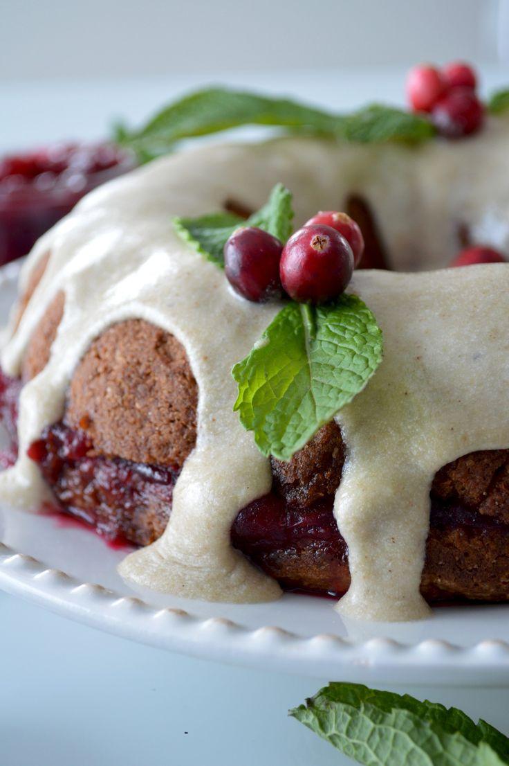 Gâteau couronne de Noël à la farine de sarrasin pâle (vegan & sans gluten) - Le Sarrasin Végétalien