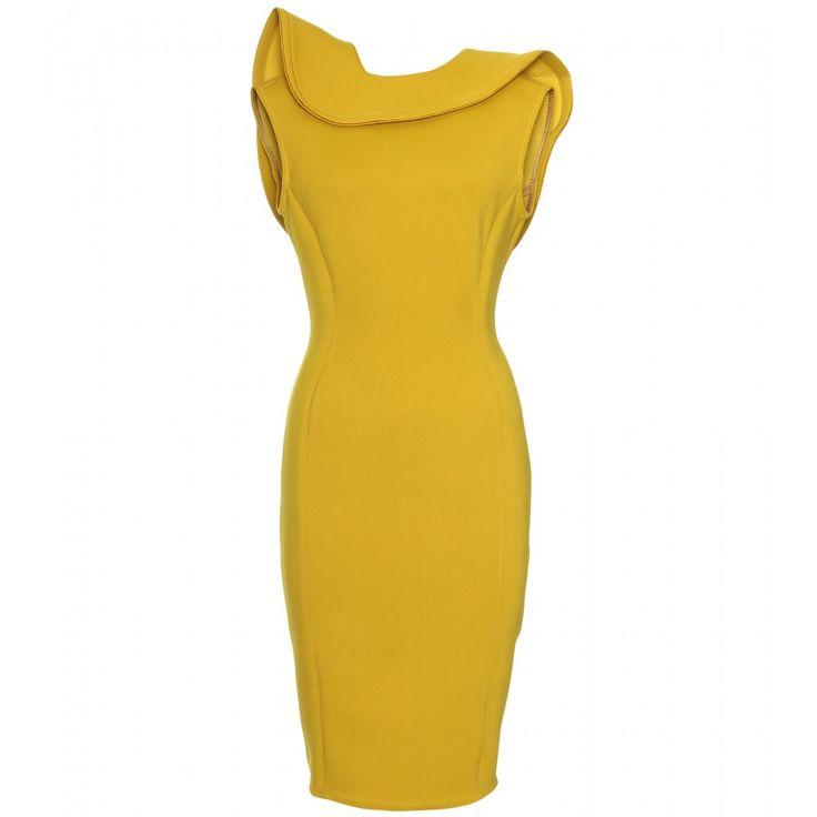 Lanvin Neoprene Dress