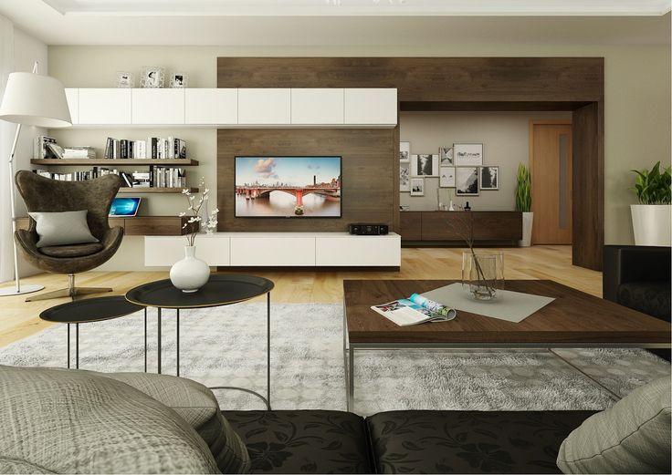 Vizualizace obývacího pokoje. Rádi Vám pomůžeme s plněním Vašich snů a představ. Neváhejte se na nás obrátit. Těšíme se na spolupráci.