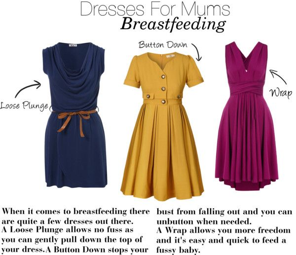 Dresses for breastfeeding mums