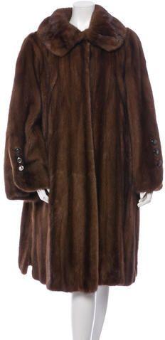 Fur Mink Top Coat