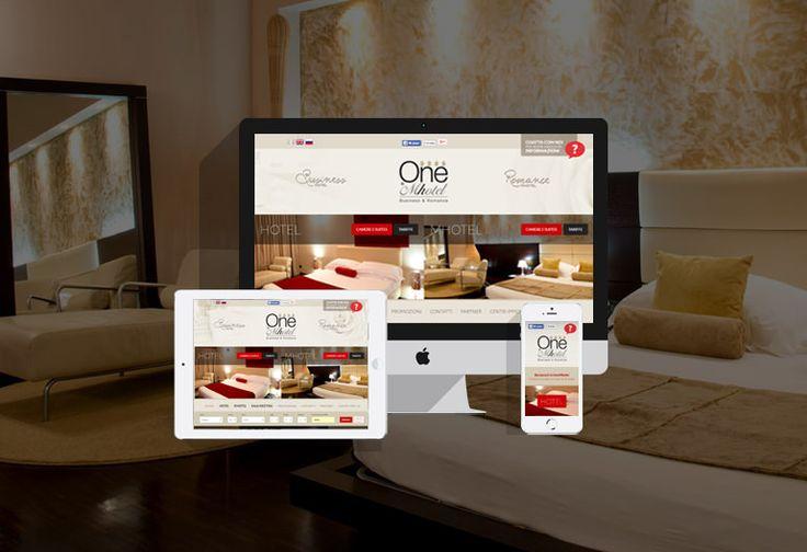 Nuovo sito per l'hotel-mhotel di lusso OneMhotel  Restyling in chiave responsive per il sito dell'hotel 4 stelle OneMhotel a San Paolo in provincia di Brescia. #webdesign