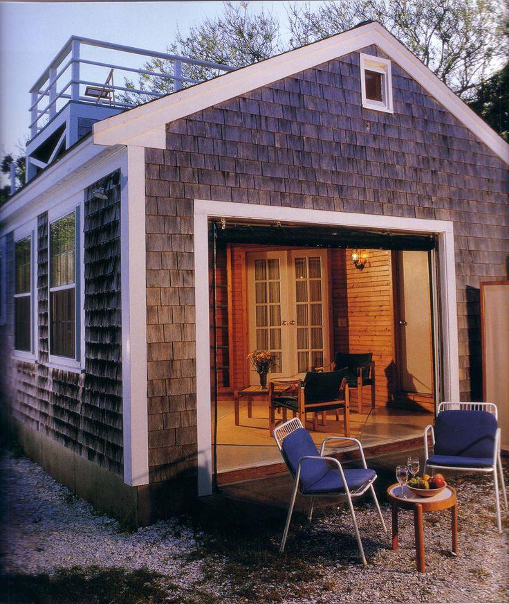 25 Best Ideas About Garage Conversions On Pinterest: Converted Garage. Deck On Top.