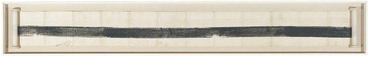 Robert Rauschenberg (American, 1925–2008). Automobile Tire Print. 1953
