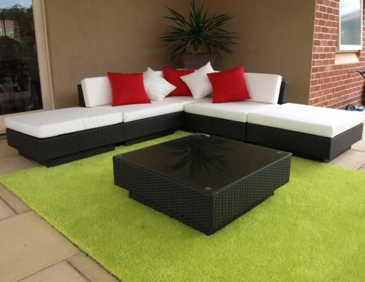 Outdoor Wicker Furniture. The Jake Lounge Suite.