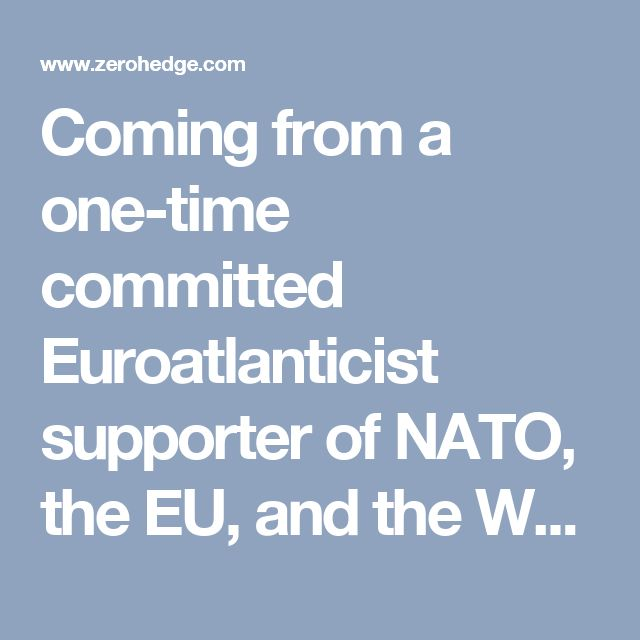 Coming from a one-time committed Euroatlanticist supporter of NATO, the EU, and the World Bank, Rutte's words about migrants must have come as a complete shock to Soros and his minions.  The exposure of Soros's financial manipulation of the Dutch economy is sure to enrage Dutch citizens already weary of migrants and diktats by the European Union. In April 2016, Dutch citizens overwhelmingly rejected the EU-Ukraine treaty that called for closer ties between the EU and the Kiev regime. The…