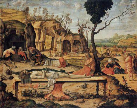 Vittore Carpaccio - Deposición de Cristo (1505)
