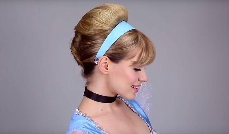 11 Disney Princess Hair Tutorials For Halloween That'll Make You Feel Royal — VIDEOS